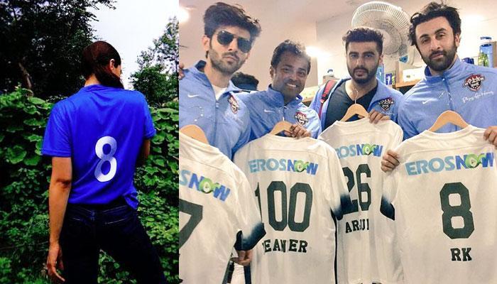 Alia Bhatt Shows Off Alleged Beau Ranbir Kapoor's Jersey Number With A 'Pyar Ka Izhaar' Message