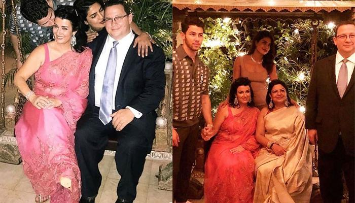 Priyanka Danced To 'Desi Girl' And Father-In-Law Recited A Poem For Her And Nick At Their Engagement