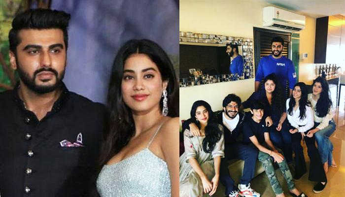 Image result for bollywood step siblings sara ali khan and taimur and jhanvi arjun pics