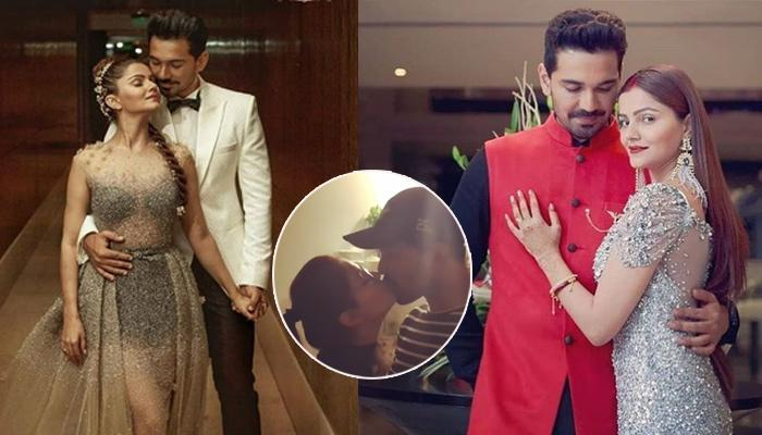 Rubina Dilaik And Abhinav Shukla Seal It With A Passionate Liplock At Her Post-Birthday Celebrations