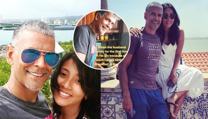 Milind Soman Cooks For The First Time In His Life, Prepares Pre-Birthday Breakfast For Ankita Konwar