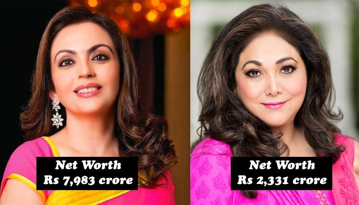 10 Rich Wives Of Indian Billionaire Businessmen Who Are Beauties With Brain