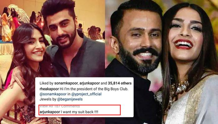 Hubby Anand S Ahuja And Bro Arjun Kapoor Troll Sonam Kapoor Ahuja For Wearing Oversized Clothes