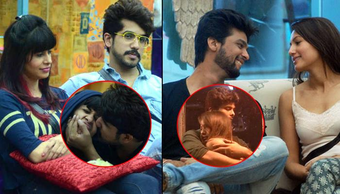 11 Couples Who Went Over The Top With Their PDA, Got Intimate And Cosy In The 'Bigg Boss' House