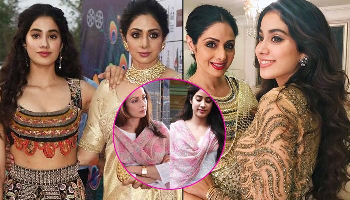 Janhvi Kapoor Wears Mom Sridevi's Dupatta And Drapes It Just Like Her, Takes Us On A Nostalgic Trip