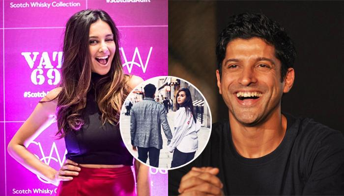 Shibani Dandekar Shares Pic With Farhan Akhtar Walking Hand-In-Hand, Are They Making It Official?