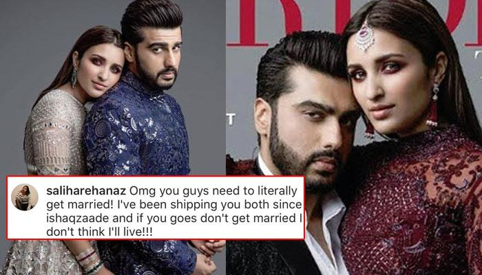 Fans Want Parineeti Chopra And Arjun Kapoor To Get Married, Here's Their Hilarious Take On It