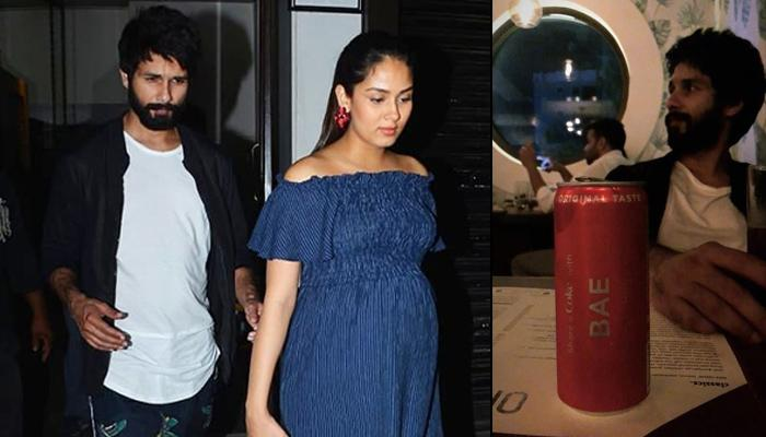 Shahid Kapoor Escorts His Pregnant Wife Mira Rajput Kapoor Safely To The Car After Their Dinner Date