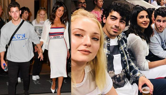 Priyanka Chopra And Nick Jonas Go On A Double Date With His Brother Joe Jonas And Sophie Turner