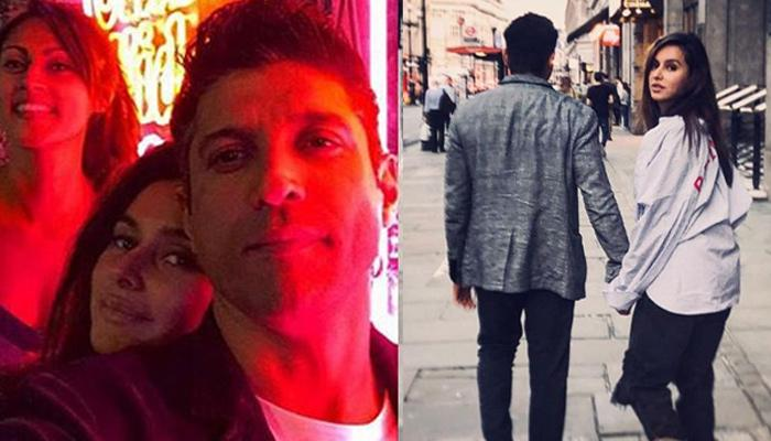 Farhan Akhtar And Shibani Dandekar Are Hiking In Vancouver, Her Reaction Is So Funny