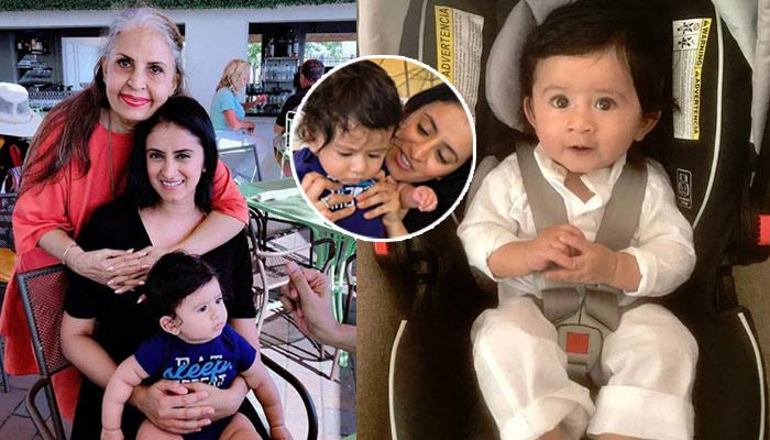 'Yeh Hai Mohabbatein' Fame Mihika Varma's First Picture With Her Baby Boy Is Too Cute For Words