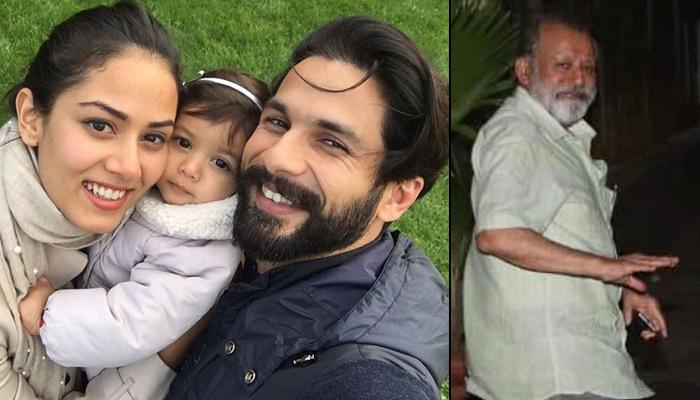 Pankaj Kapur Meets His Newborn Grandson, Says Shahid Kapoor And Mira Rajput's Family Is Complete Now
