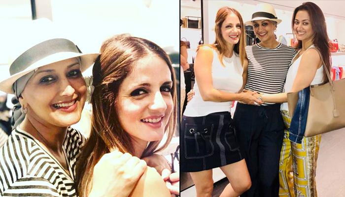 Sussanne Khan Makes A Heartfelt Promise To Stand By BFF Sonali Bendre And Her Gang Of Girls Forever