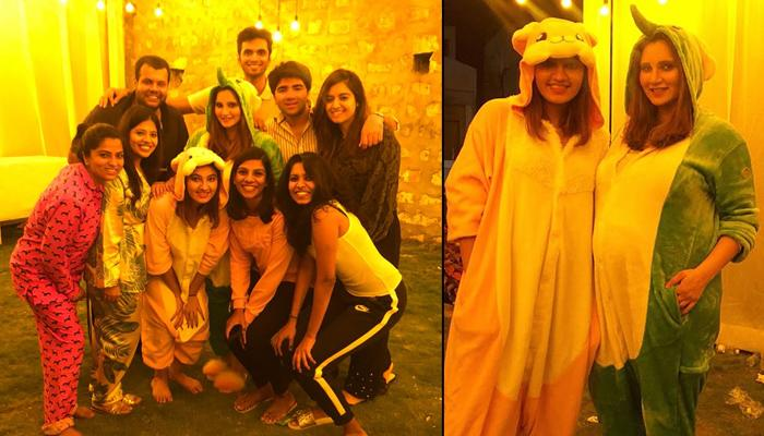 Pregnant Sania Mirza's Sister Anam Mirza Surprises Her With Pyjama Party Instead Of A Baby Shower