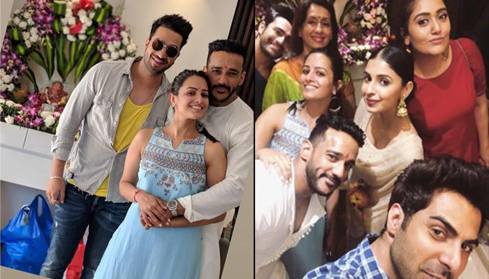 Anita Hassanandani And Rohit Reddy Welcome Lord Ganpati In Their New Home On Ganesh Chaturthi