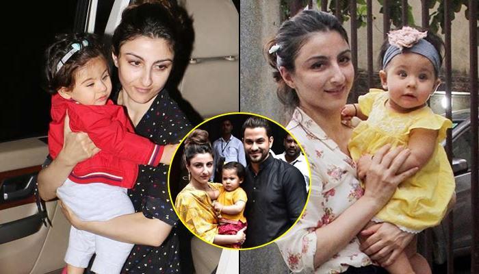 Inaaya Naumi Kemmu Twins With Mommy Soha Ali Khan For Ganesh Chaturthi Celebrations, Wears A Lehenga
