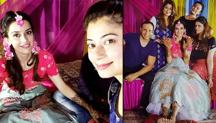 Unseen Pictures From Sumeet Vyas And Ekta Kaul's 'Mehendi' Ceremony, She Dazzled In Pink And Grey