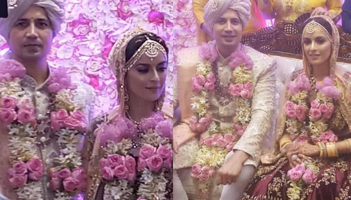 Sumeet Vyas And Ekta Kaul's First Look From Their Wedding, Looked Ethereal In Their Royal Outfits