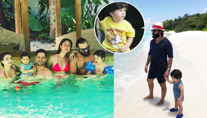 Taimur Ali Khan Is Still Not Over His Maldives Vacation And These Latest Pics Are A Proof