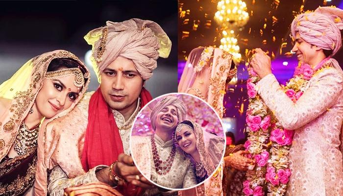 Sumeet Vyas And Ekta Kaul Share Unseen Pictures From Their Wedding With Beautiful Messages