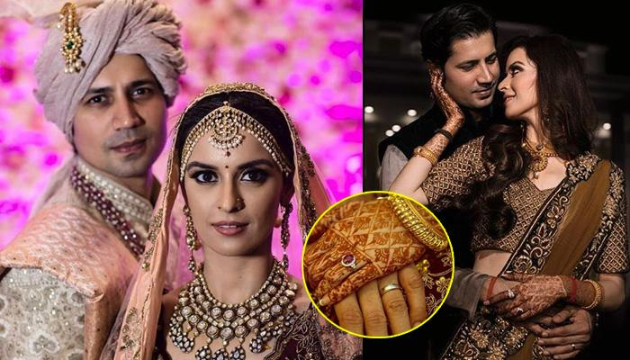 Sumeet Vyas Shares A Picture Of Their Engagement Rings, Ekta Kaul Vyas' Engagement Ring Is Unique