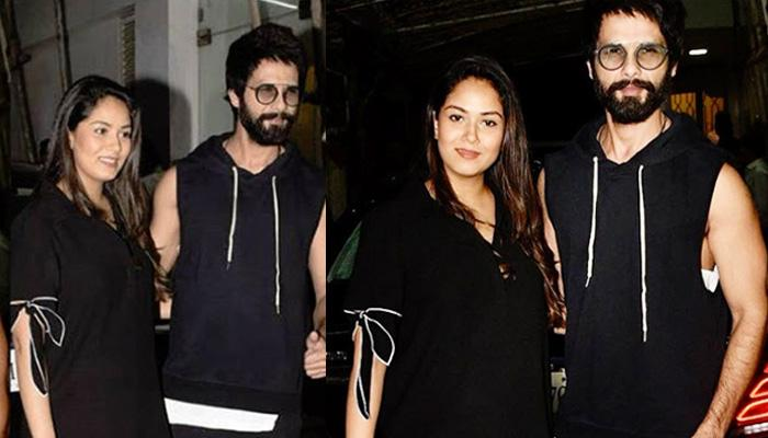Mira Rajput Flaunts Her Post-Pregnancy Body With Shahid Kapoor At 'Batti Gul Meter Chalu' Screening