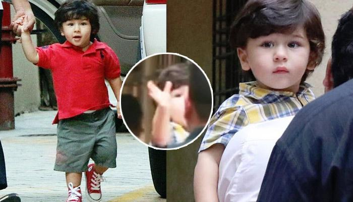 Taimur Ali Khan Waves And Says 'Bye' For First Time And We're Drooling Over His Voice [VIDEO]