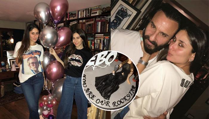 Kareena Kapoor's 38th Birthday Bash With 'You Are Our Rockstar' Cake, Pictures And Videos Inside