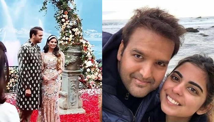 Isha Ambani's Engagement Gown With Crystal Embroidery Is From Dolce And Gabbana's Rare Collection