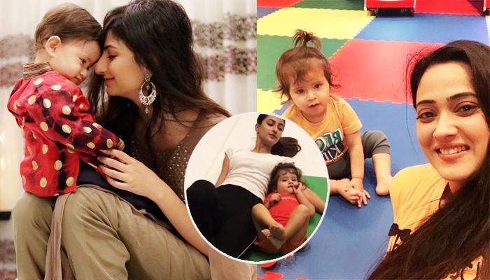 Shweta Tiwari's Son Reyansh Kohli Practices Yoga With Sister Palak Chaudhary, Video Inside