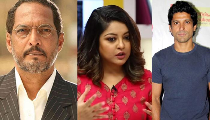 Nana Patekar Reacts To Tanushree Dutta's Allegations, Farhan, Twinkle, Priyanka Support Actress