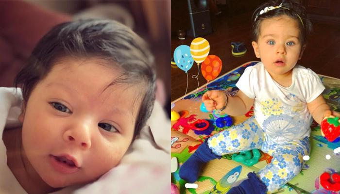 Inaaya Naumi Kemmu's 12 Adorable Pictures Which Show Her Journey From A Baby To A One-Year-Old Doll