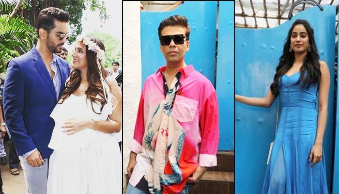 Neha Dhupia's Baby Shower: Karan Johar, Janvhi Kapoor, Soha Ali Khan, Arbaaz Khan And Others Arrive