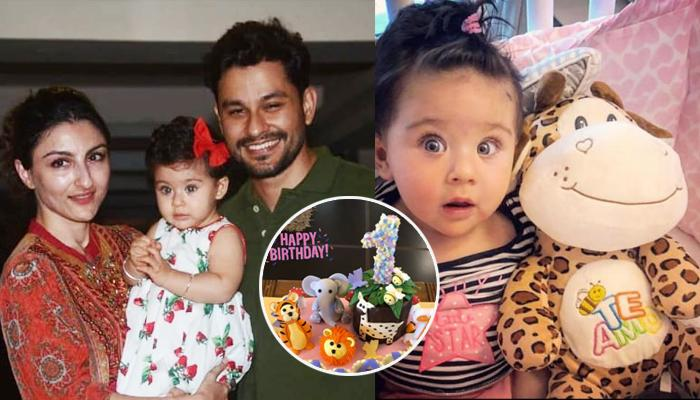 Inaaya Naumi Kemmu's Jungle-Themed First Birthday Cake Has Toy Elephants, Tigers, Birds And Trees