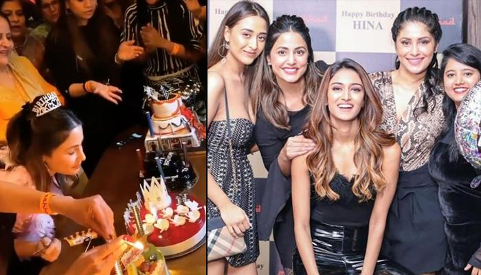 Hina Khan Birthday Bash: Celebrates With Erica Fernandes, Parth Samthaan, KZK 2 And YRKKH Co-Stars