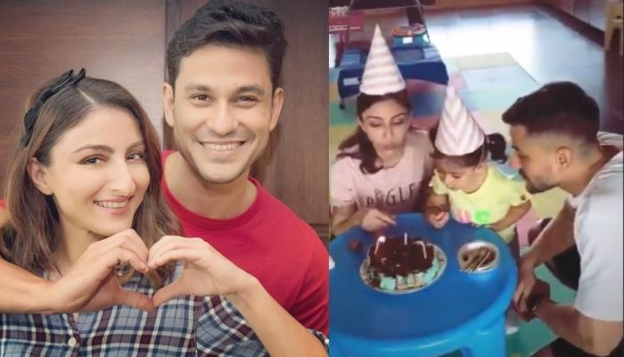 Inaaya Naumi Kemmu Helps Mommy, Soha Ali Khan To Cut Her Birthday Cake, Video Inside