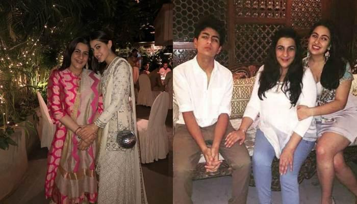Sara Ali Khan Digs Into A Cheat Meal With Mom Amrita Singh, Shares A Funny Video