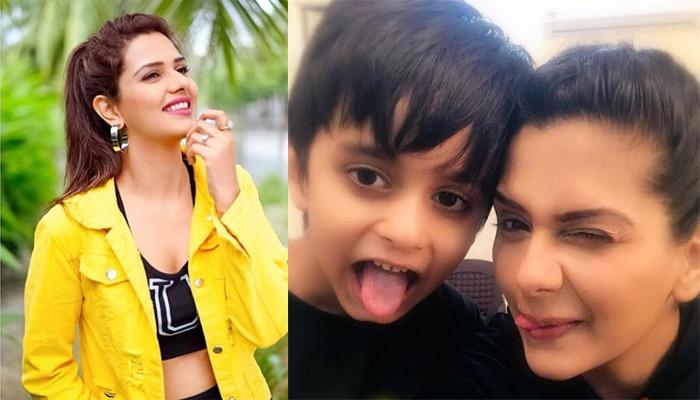 Dalljiet Kaur's Son, Jaydon Misses Playing Stone, Paper, Scissor With Mommy [Video Inside]