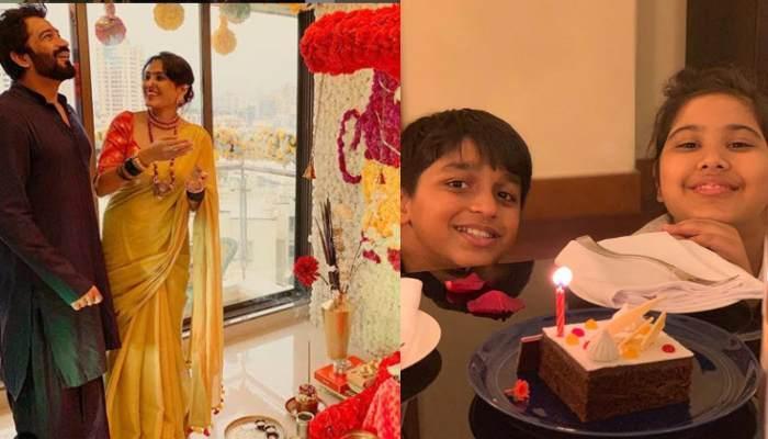 Kamya Punjabi And Beau Shalabh Dang Celebrate Daughter And Son's Birthday In Dubai