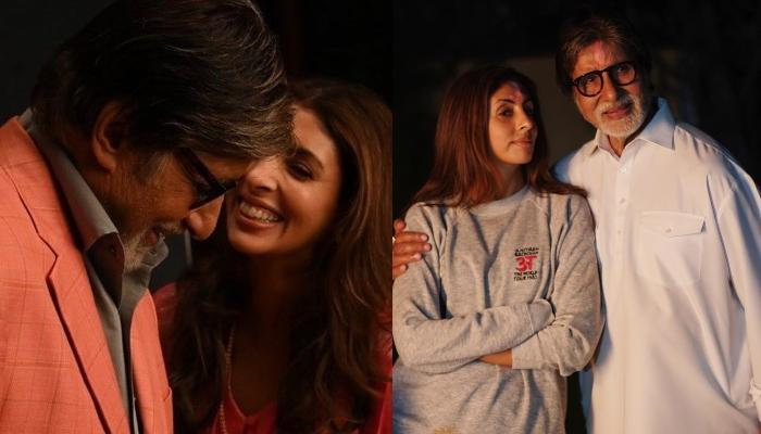 Shweta Bachchan Shares A Throwback Picture With Daddy, Amitabh Bachchan Ahead Of His 77th Birthday