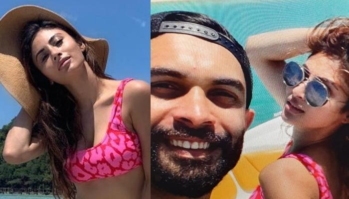 Mouni Roy Denies Dating Dubai-Based Banker, Suraj Nambiar But Their Holiday Picture Proves Otherwise