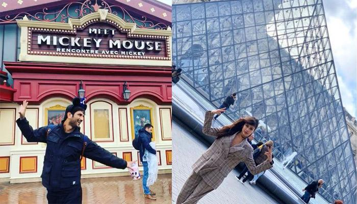 Are Rumoured Couple, Rhea Chakraborty And Sushant Singh Rajput Vacationing Together In Paris?