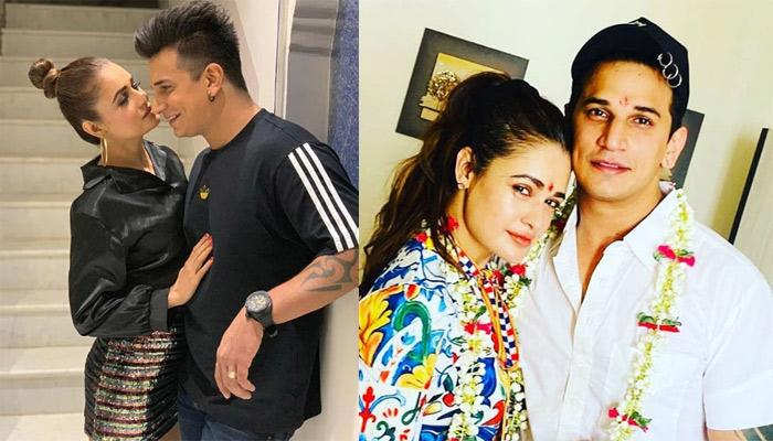 Prince Narula And Yuvika Chaudhary Seek Blessings Before Their First Wedding Anniversary