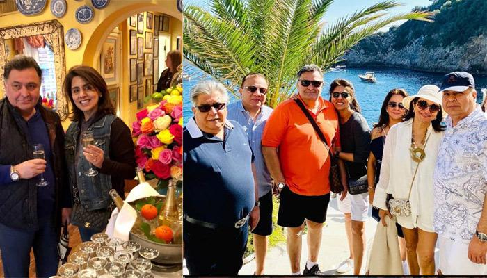 Rishi Kapoor And Wife, Neetu Kapoor Take Off To An Italian Vacation After Returning Back To Mumbai