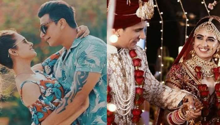 Yuvika Chaudhary Wishes Hubby, Prince Narula On First Anniversary By Sharing Their Wedding Moments