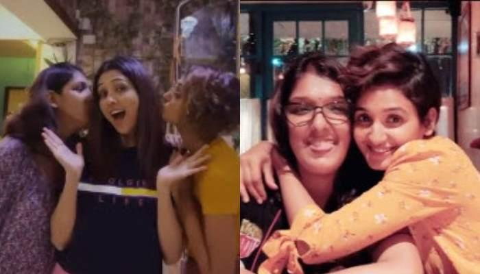 Neeti Mohan And Nihaar Pandya Surprise Her Sisters, Shakti Mohan And Kriti Mohan On Their Birthday