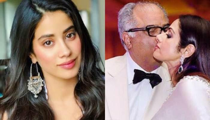 Janhvi Kapoor Shares A Heart-Melting Throwback Picture Of Her Parents, Boney Kapoor And Sridevi