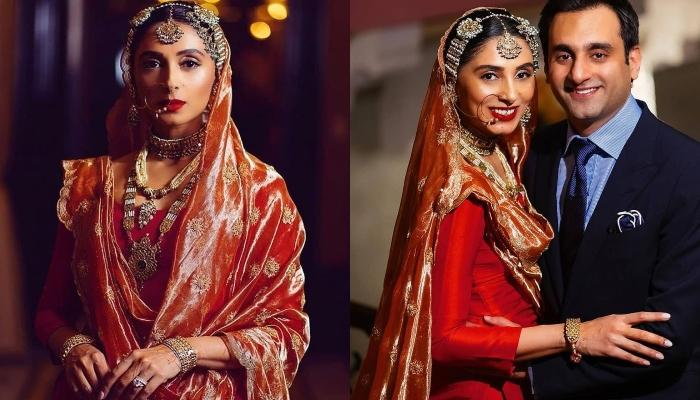 Pernia Qureshi Re-Wore Her Mother's Thirty-Year-Old Bridal Gharara For Her Wedding Reception