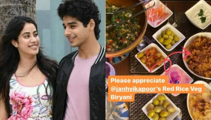 Janhvi Kapoor Cooked Veg Biryani For Rumoured Beau, Ishaan Khatter And Family For Sunday Brunch