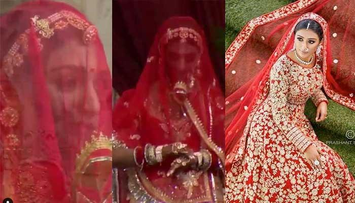 Mohena Kumari Singh's First Look As A Royal Rajput Bride Is Out, Looks Resplendent In Red Poshak